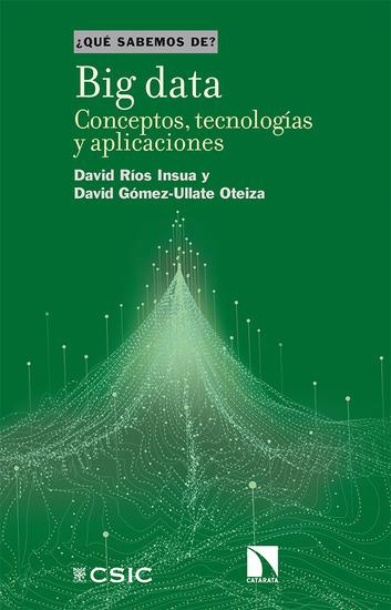 Big data - Conceptos tecnologías y aplicaciones - cover