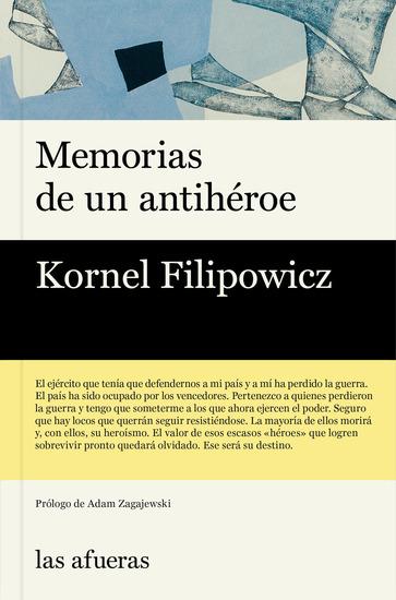 Memorias de un antihéroe - cover