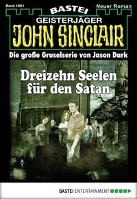 John Sinclair - Folge 1851 - Dreizehn Seelen für den Satan