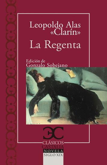 La Regenta I - cover