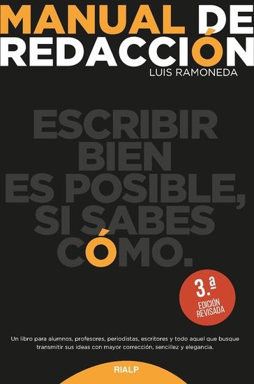 Manual de redacción - cover