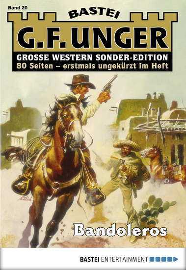 G F Unger Sonder-Edition - Folge 020 - Bandoleros - cover