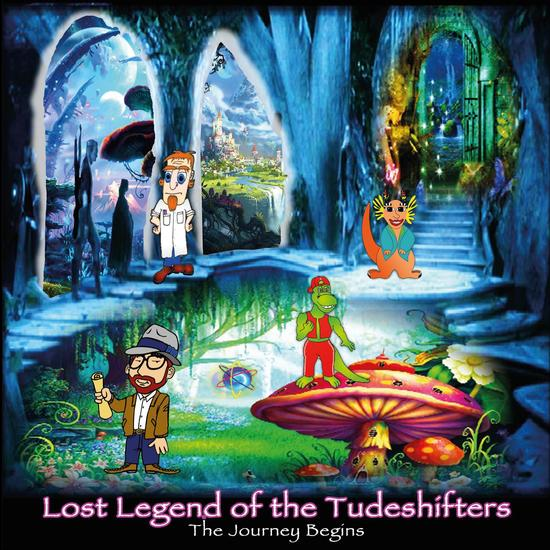 Lost Legend of the Tude Shifters - cover