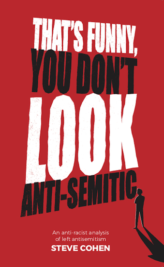 That's Funny You Don't look Antisemitic - cover
