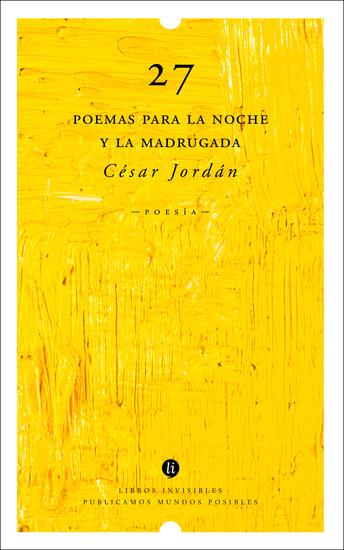 27 poemas para la noche y la madrugada - cover