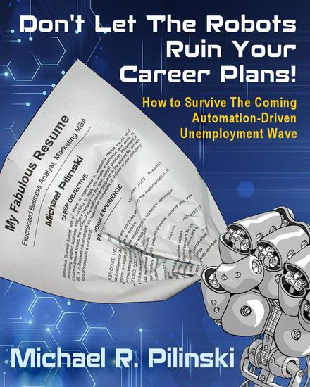 Don't Let The Robots Ruin Your Career Plans! - cover
