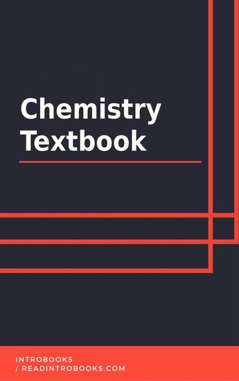 Chemistry Textbook - cover