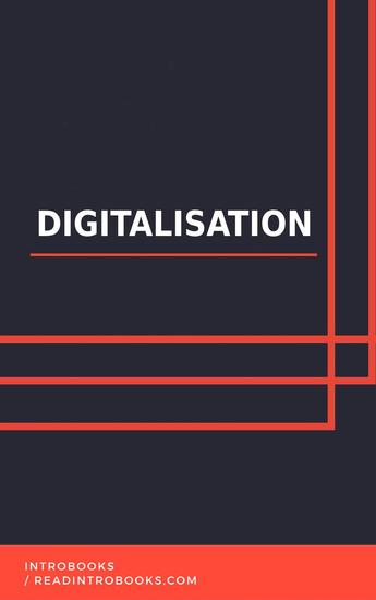 Digitalisation - cover
