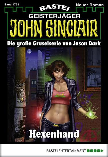 John Sinclair - Folge 1734 - Hexenhand - cover