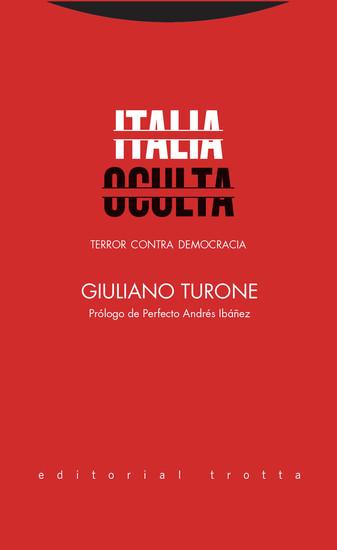 Italia oculta - Terror contra democracia - cover