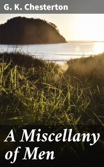 A Miscellany of Men - cover