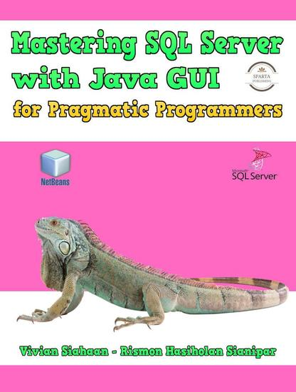Mastering Sql Server With Java Gui For Pragmatic Programmers - cover
