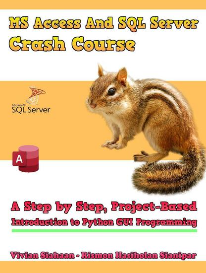 Ms Access And Sql Server Crash Course: A Step by Step Project-Based Introduction to Python GUI Programming - cover