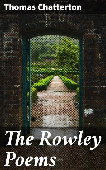 The Rowley Poems - cover