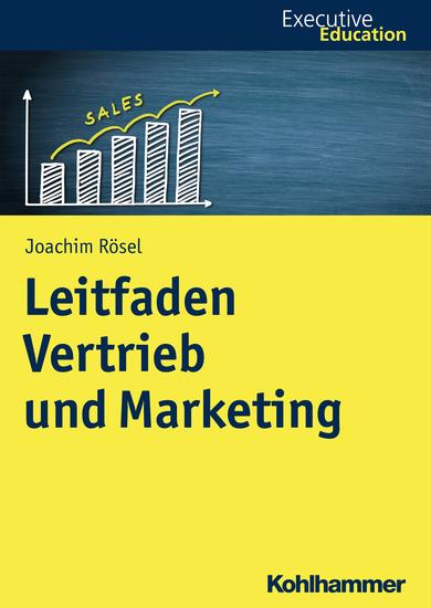 Leitfaden Vertrieb und Marketing - cover