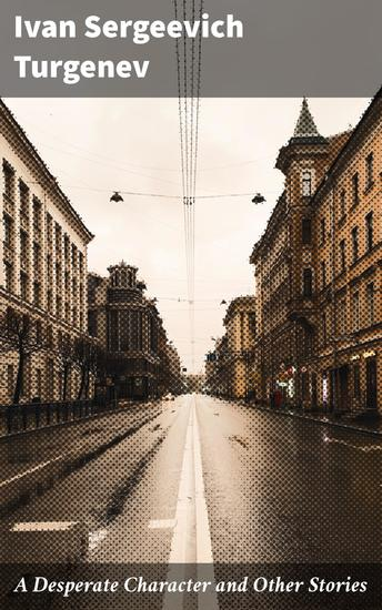 A Desperate Character and Other Stories - cover