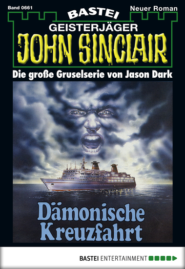John Sinclair - Folge 661 - Dämonische Kreuzfahrt - cover