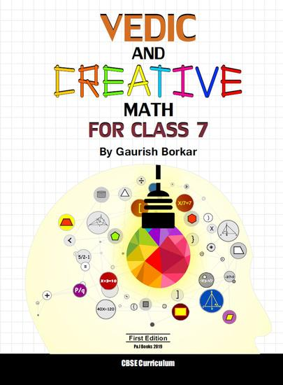 Vedic and Creative Math for 7th - Vedic Math #5 - cover