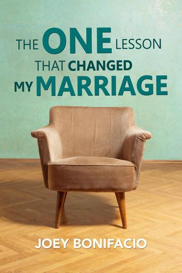 The One Lesson That Changed My Marriage - cover