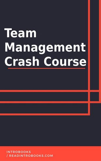 Team Management Crash Course - cover