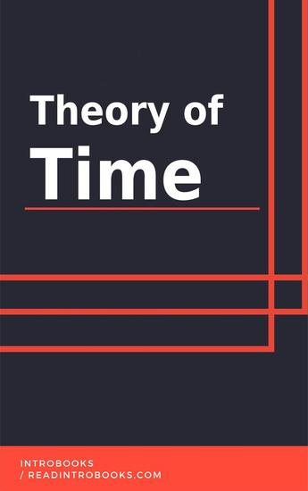 Theory of Time - cover