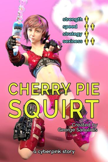 Cherry Pie: Squirt - Cyberpink - cover