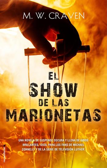El show de las marionetas (Serie Washington Poe 1) - cover