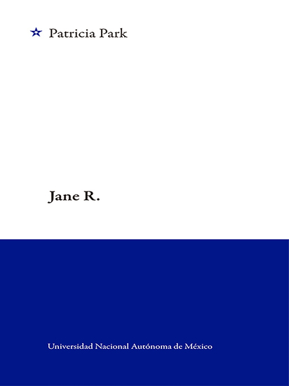 Jane R - cover