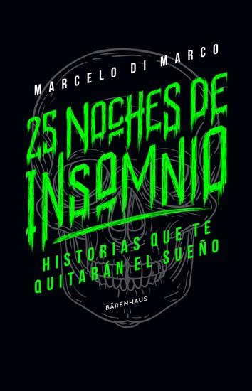 25 noches de insomnio - Historias que te quitarán el sueño - cover