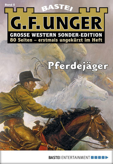 G F Unger Sonder-Edition - Folge 005 - Pferdejäger - cover