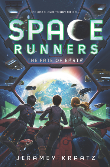 Space Runners #4: The Fate of Earth - cover