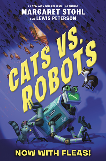 Cats vs Robots #2: Now with Fleas! - cover