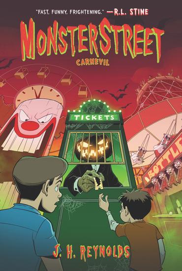 Monsterstreet #3: Carnevil - cover