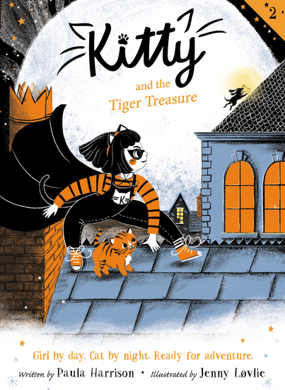 Kitty and the Tiger Treasure - cover