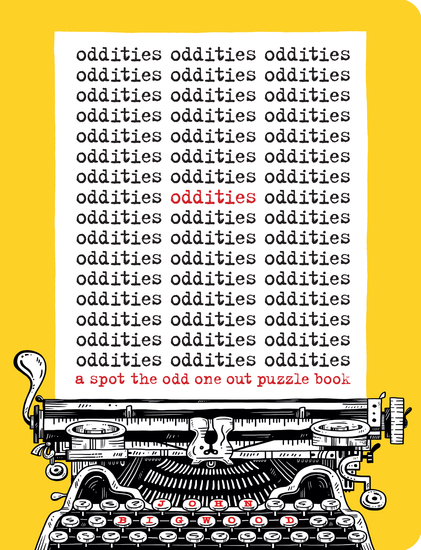 Oddities - A Spot the Odd One Out Puzzle Book - cover