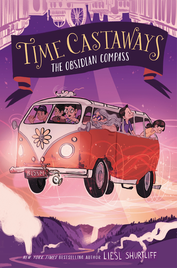 Time Castaways #2: The Obsidian Compass - cover