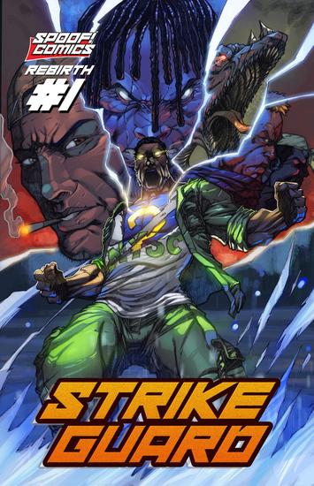 Strikeguard Rebirth #1 - Strikeguard #1 - cover