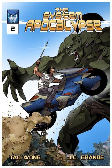 System Apocalypse Issue 2 - System Apocalypse Comics #2 - cover