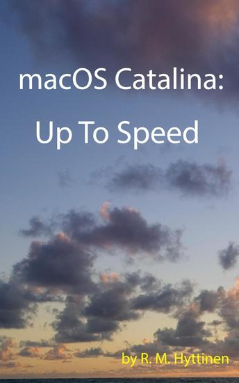 macOS Catalina: Up to Speed - cover