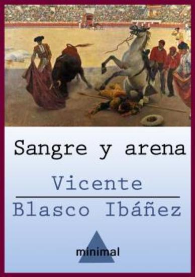 Sangre y arena - cover
