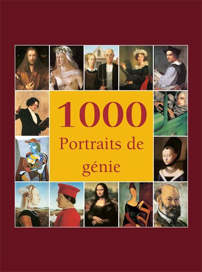 1000 Portraits de génie - cover