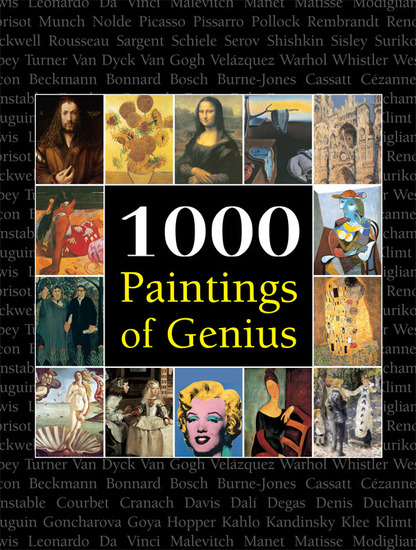 1000 Paintings of Genius - cover