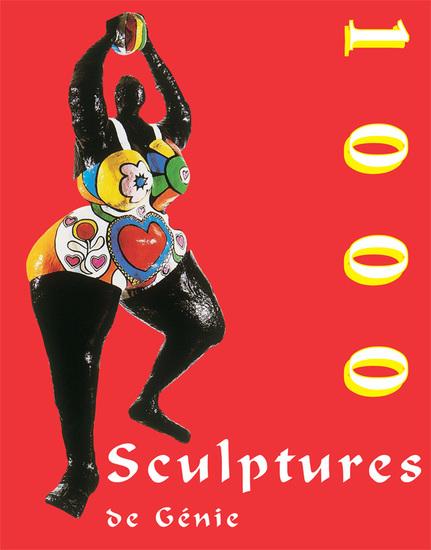 1000 Scupltures de Génie - cover