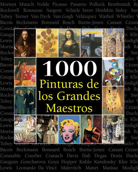 1000 Pinturas de los Grandes Maestros - cover