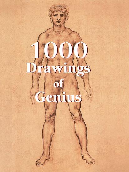 1000 Drawings of Genius - cover
