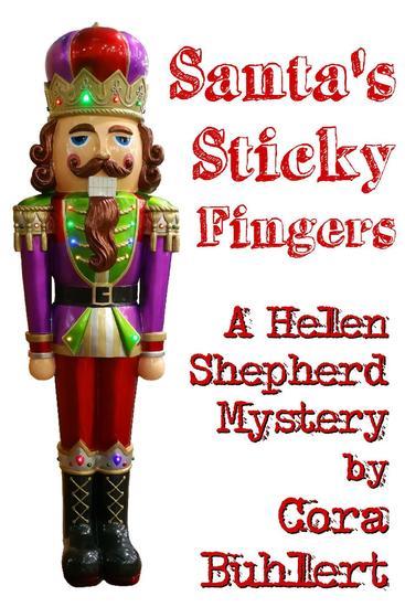 Santa's Sticky Fingers - Helen Shepherd Mysteries #13 - cover