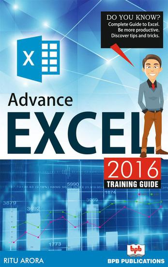 Advance Excel 2016 - cover