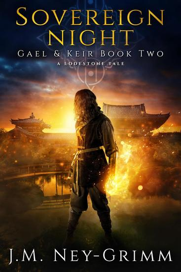 Sovereign Night: A Fantasy Mystery Novel - Gael & Keir #2 - cover