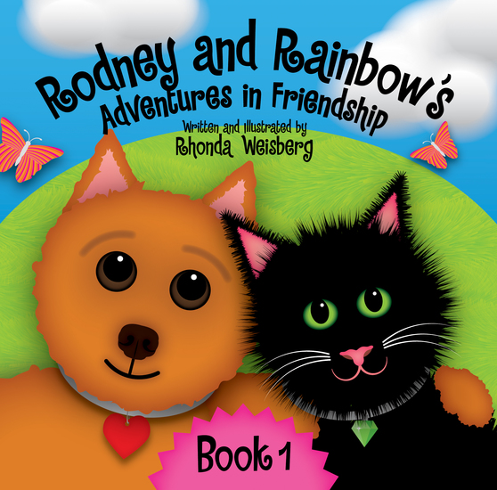Rodney and Rainbow's Adventures in Friendship - Rodney Meets Rainbow - cover