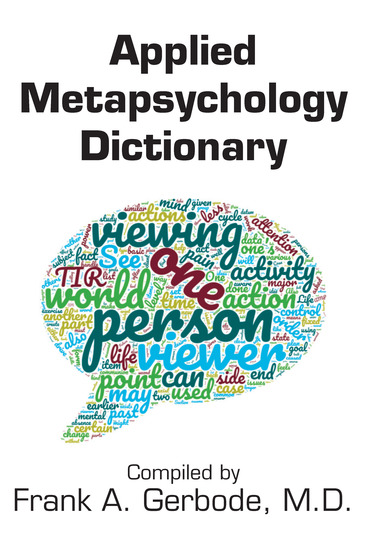 Applied Metapsychology Dictionary - cover